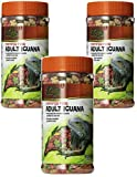 Zilla Reptile Food Adult Iguana Fortified, 6.5-Ounce (3 Pack)