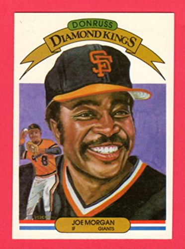 Joe Morgan 1982 Donruss Diamond Kings (Reds) (Astros) - Donruss Diamond 1990