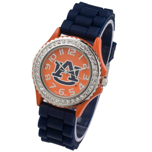 WATCH-AUBURN UNIVERSITY LADIES JELLY WATCH (Auburn Tigers Womens Stainless Steel)