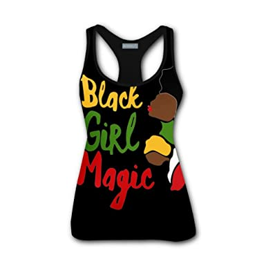 c2aec146f45 Image Unavailable. Image not available for. Color  2018 Women Summer 3D  Printed Black Girl ...