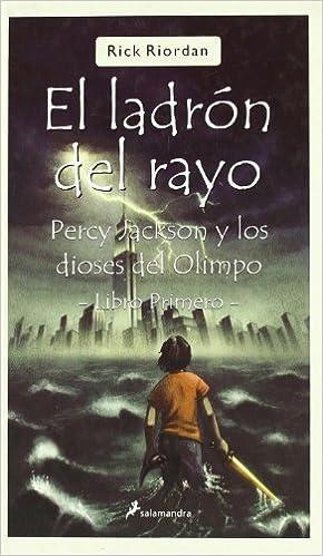 Ladron del rayo, el (kart) (Juvenil (salamandra)): Amazon.es: Rick Riordan: Libros