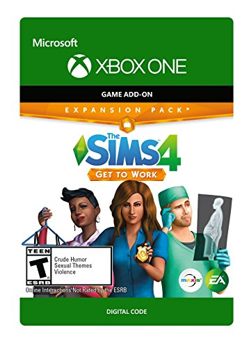 The Sims 4: Get To Work - Xbox One [Digital Code] by Electronic Arts