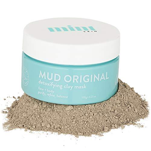 Mint Skin MUD Original Australian Healing Clay Mask | Purify, Refine & Balance| Face Mask | Detox Mask | Acne, Pimples, Eczema, Scarring, Refines & Tightens Pores Removes Blackheads (Face Mix)