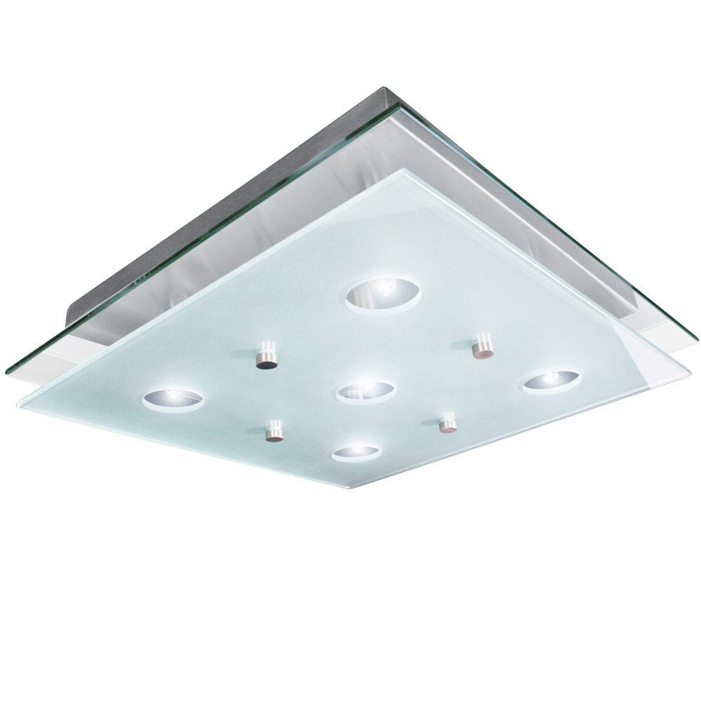 Jago BADL01 Ceiling Light approx. 38 cm x 38 cm Amazon.co.uk Kitchen u0026 Home  sc 1 st  Amazon UK & Jago BADL01 Ceiling Light approx. 38 cm x 38 cm: Amazon.co.uk ...