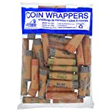 #9: Crimped Assorted Coin Wrappers - 36 Count