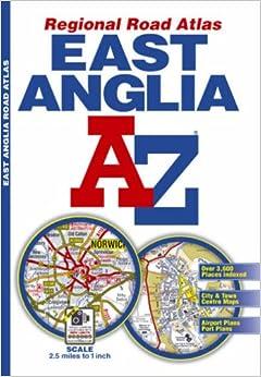 Book East Anglia Regional Road Atlas (A-Z Regional Road Atlas)