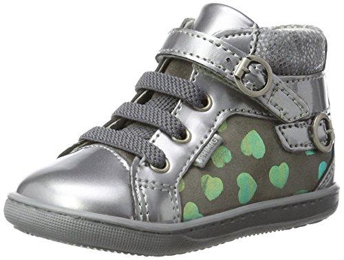 Primigi Baby Mädchen Pbx 8022 Sneaker Grau (Piombo/Grigio)