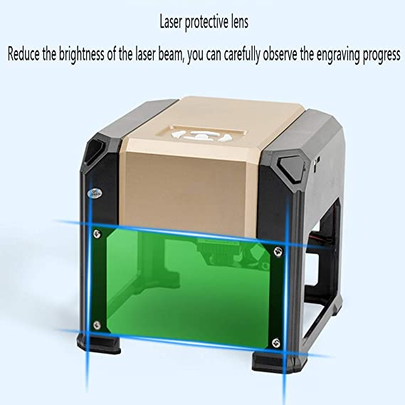 GNXTNX Mini Máquina De Grabado Láser Mini Mini Plotter Portátil Máquina De Marcado Automático para El Hogar,Pc Version: Amazon.es: Hogar