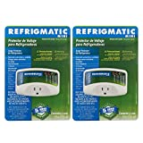 Refrigmatic WS-36300 Electronic Surge Protector for Refrigerator - Up to 27 cu. ft. (2 Pack)