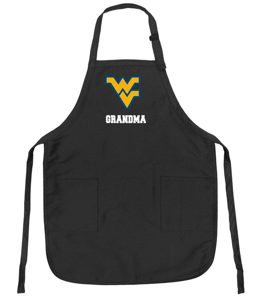 huge discount d137c 67a7f Broad Bay West Virginia University Grandma Aprons NCAA WVU Grandma Apron  w Pockets ...