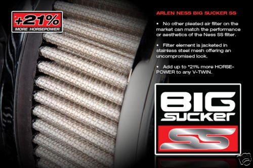 Arlen Ness Stage II Big Sucker Performance Air Filter Kit 18-776