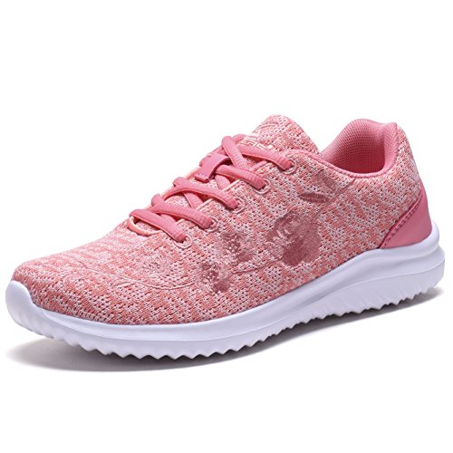 Women Fashion Sneakers Sport Shoes (Pink) - 3
