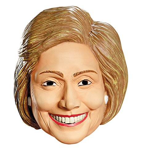 Disguise Hillary Clinton Deluxe Funny Political Theme Party Vinyl Halloween -
