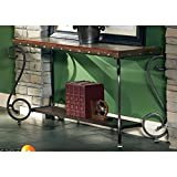Greyson Living Este Elegant Tuscan Style Sofa Table by
