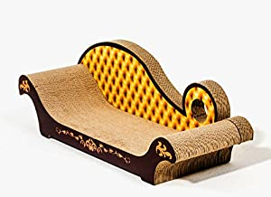 Cat scratch furniture chaise longue pet for Cat chaise longue