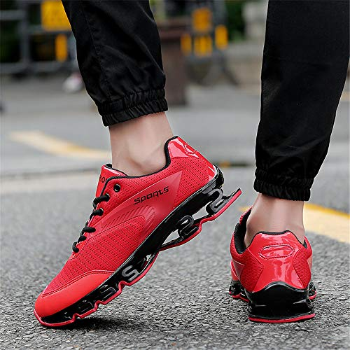 Red Casual Course Baskets Plein Confort Respirant Sports Doux Airavata Mode shkz8050 Hommes Chaussures Air Athltique Mesh De 7vxnZpT