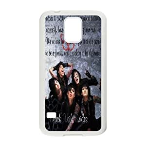 High quality Black Veil Brides band, Black Veil Brides logo, Rock band music protective case cover For Samsung Galaxy S5 HQBV479721782