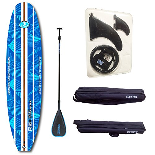 Cbc 10 6  Classic Foam Paddle Board Sup Package  Adjustable Paddle  Sup Leash  Three Fins  Camera Mount  Protective Tail Cap   Roof Racks