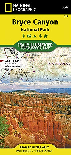 - Bryce Canyon National Park (National Geographic Trails Illustrated Map)