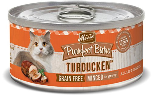 Merrick Purrfect Bistro Grain Free, 5.5 oz, Turducken - Pack of 24
