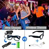 YouRfocus Light Up Glasses Glow in The Dark Party