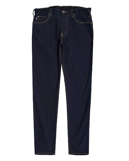 4d32d52a44d0 Emporio Armani Mens J21 Regular Fit Jeans 32S Dark Clean  Amazon.co.uk   Clothing