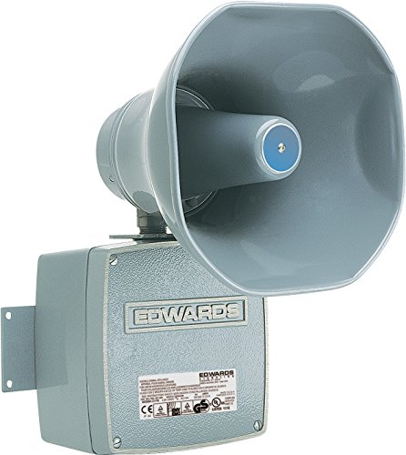 Edwards Signaling 5530M-120N5 Electronic Audible Multi-Tone Signal, 120/110 db, Heavy Duty, Single Input/Output, 120V AC, Gray by Edwards-Signaling