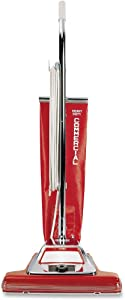 EUK899 Sanitaire Commercial Upright Vacuum, 16, Red