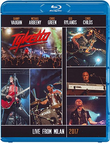 Blu-ray : Tyketto - Tyketto: Live In Milan 2017 (Blu-ray)