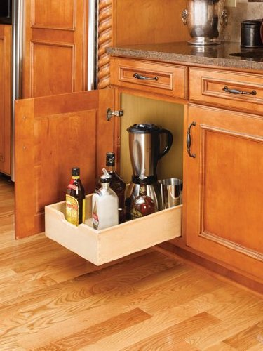 Rev-A-Shelf RS4WDB.15 Wood Pullout Drawers - Rev A-shelf Wood Pull