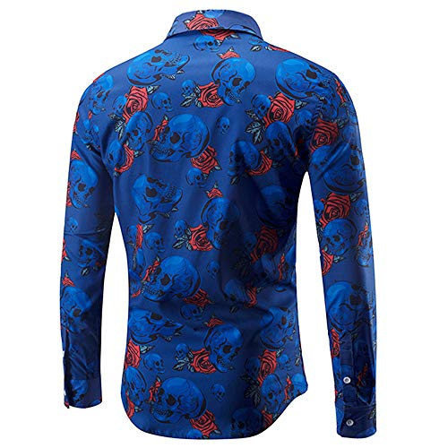 Corriee Fashion Tops for Men 2018 Classic Long Sleeve Star Graffiti Printed Sweatshirts Blouse Casual Slim Party T Shirts by Corriee Men Tops (Image #2)