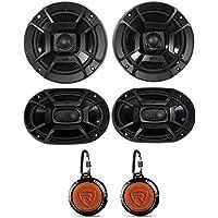 2 Polk Audio DB652 6.5+DB692 6X9 Car Audio Marine/ATV/Motorcycle/Boat Speakers