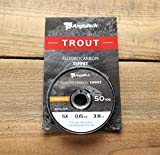 Anglatech Fly Fishing Fluorcarbon Tippet 4X 50 Yds
