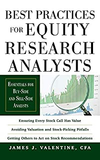 Best Practices for Equity Research Analysts: Essentials for Buy-Side and Sell-Side Analysts (0071736387) | Amazon price tracker / tracking, Amazon price history charts, Amazon price watches, Amazon price drop alerts