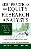 Practice For Equity Researches
