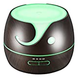 VicTsing 400ML Essential Oil Diffuser, Ultrasonic Aromatherapy Cool Mist Humidifier with 14 -Color LED Light, Wood Grain Design, 4 Timer Settings for Office, Kids¡¯ Room, Spa