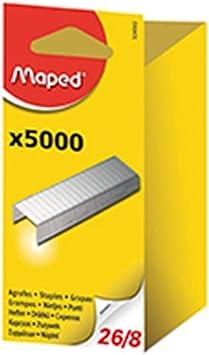 Maped Heftklammern 26//6 verzinkt 5.000 Stück