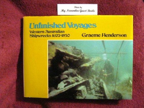 Unfinished Voyages: Western Australian Shipwrecks, (East Coast Ale)