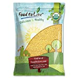 Organic Whole Wheat Couscous by Food to Live (Non-GMO, Kosher, Bulk) – 5 Pounds