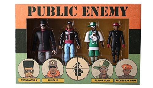 Public Enemy Action Figure Set from Presspop Inc.