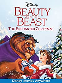 amazoncom beauty and the beast the enchanted christmas
