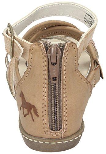 Pferdefreunde maedchen Sandalen Braun, 510216-2 braun