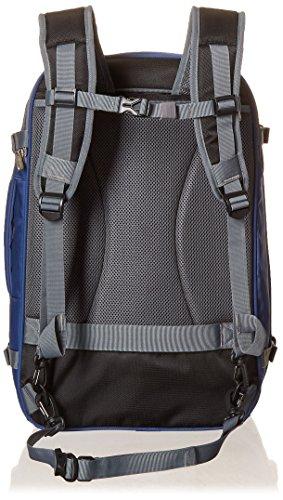AmazonBasics - Zaino da viaggio/bagaglio a mano, Blu navy - 50L 5 spesavip
