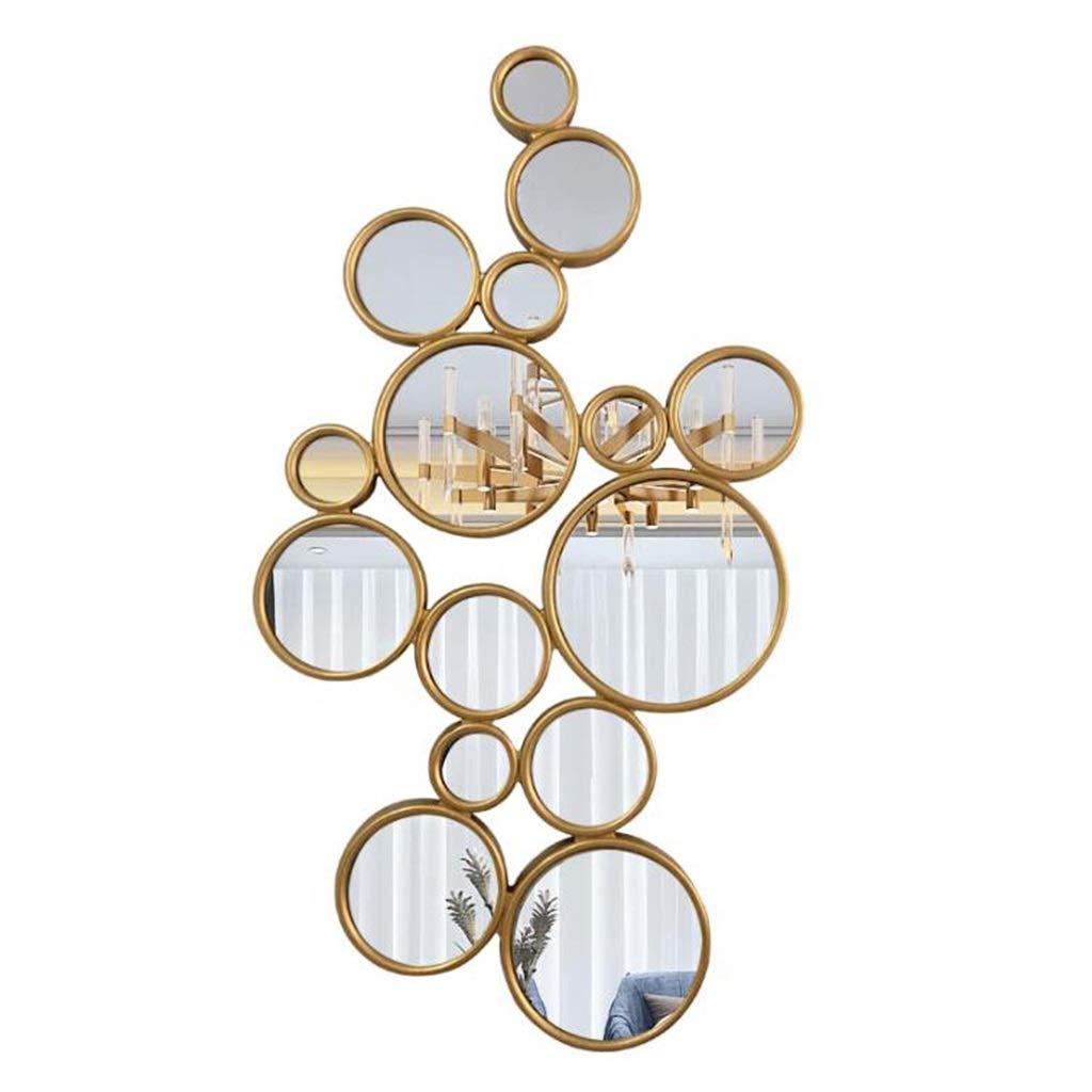 Specchi da Parete Sculture Decorazioni per la casa Decorazioni per la Vita Applique da Parete Specchio da Parete Specchio da Camera da Letto Specchio Rotondo JING0609 Specchio