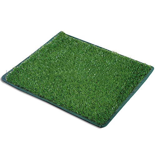 Dog Hemming Grass Bathroom Pads, Artificial Turf Pet Grass Replacement Mat, Portable Puppy Potty Trainer for Indoor…