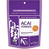 Navitas Naturals Freeze Dried Acai Powder, 4 Ounce -- 12 per case.