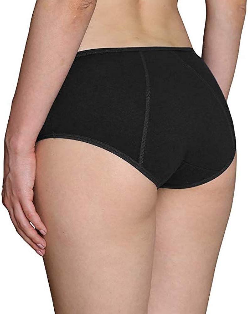 Anntry Big Girls Protective Cotton Menstrual Period Panties Teens Breathable Leakproof Briefs Women Postpartum Underwear