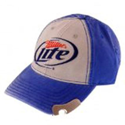 8fd9d21501ef4 Amazon.com  Miller Lite Logo Blue Bottle Opener Cap  Toys   Games