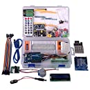Kuman Project Complete Starter Kit with Tutorial and Reliable Components for Arduino UNO R3 Mega 2560 Robot Nano breadboard Kits