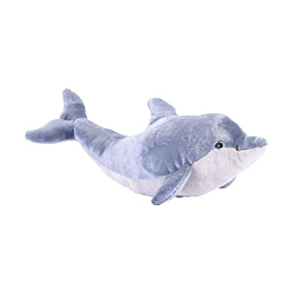 Wild Republic Dolphin Plush, Stuffed Animal, Plush Toy, Gifts for Kids, Cuddlekins 20 inches: Toys & Games